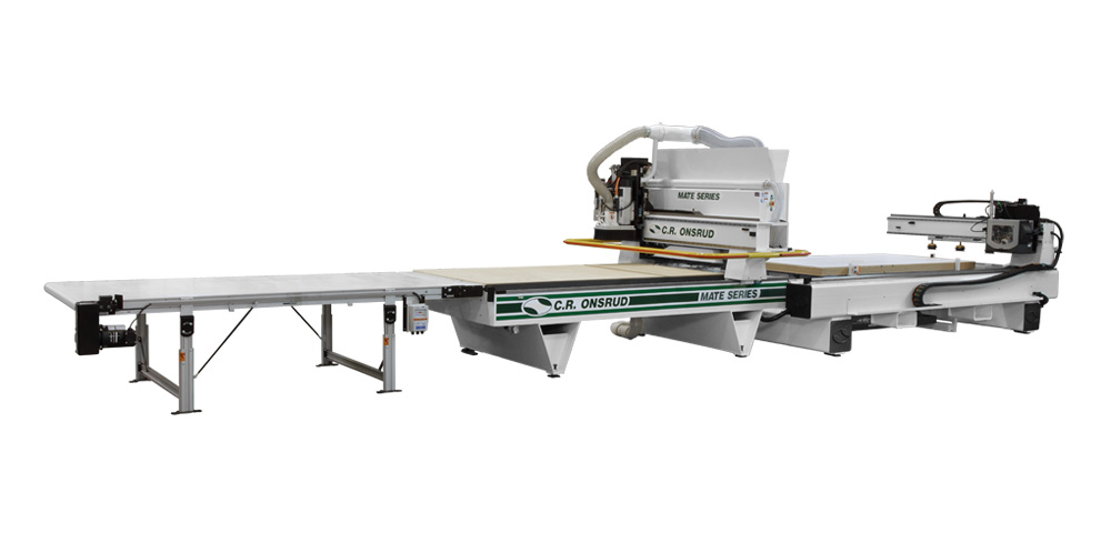 CNC Router with Automated Material Handling System
