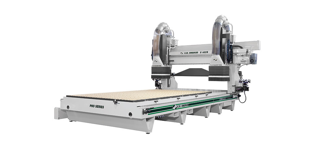 5-Axis Dual Process CNC Router