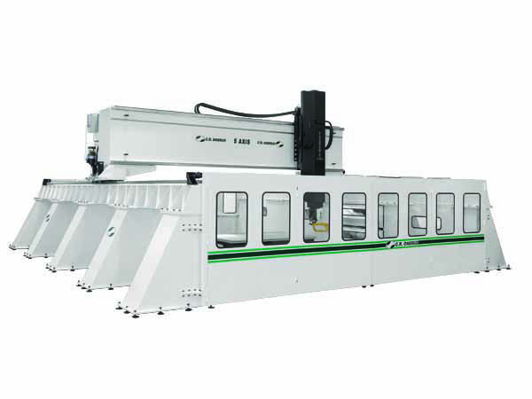 High Rail CNC Machining Center