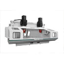 F148HM50H2 Hybrid Mill Dual Process CNC Machining Center with Enclosure Doors Open